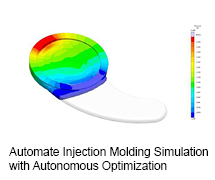 Automate Injection Molding Simulation With Autonomous Optimization