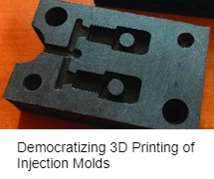 Democratizing 3D Printing of Injection Molds