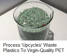 Recycling PET resins