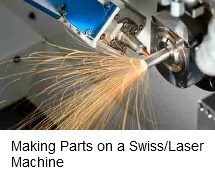 Making Parts on a Swiss/Laser Machine