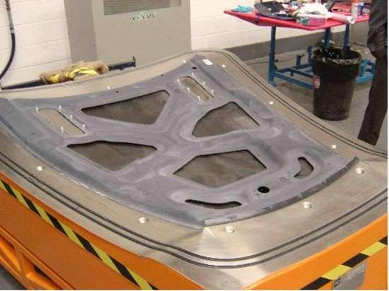 Step 7 - assembled hood
