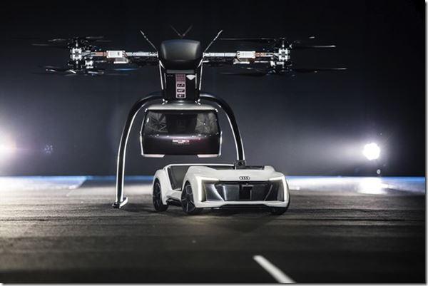 Audi and Airbus Take Flight image