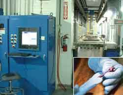 Automated anodizing system