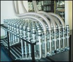Automated central drying and conveying system