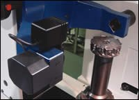 Automated measurement of tool length
