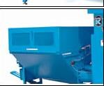 Automatic discharge chute