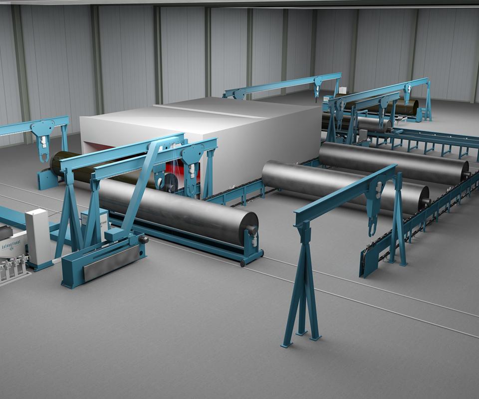Autonational filament winding system composites