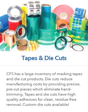 Masking Tapes and Die Cuts
