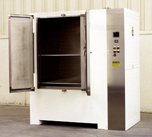 No. 923 electrically heated, 500°F Class 100 cleanroom cabinet oven