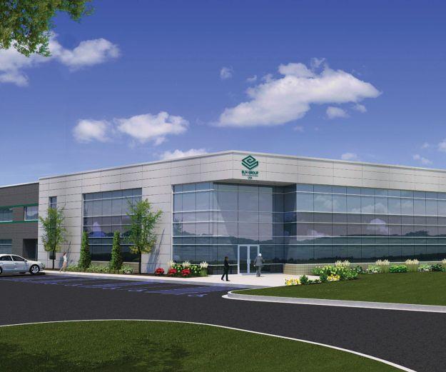 BLM Group building rendering