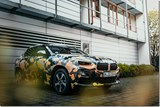 BMW X2 in Seriously Ugly Camo