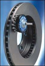 Ball-style honing on brake rotor