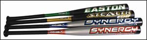 Bats from Easton Sports
