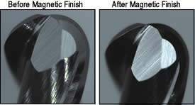 Before and After Magnetic Finish