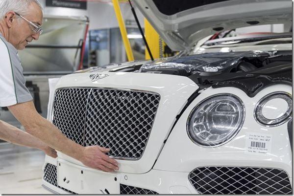 Bentley Proffers Napkin Rings. Lambo Goes CPO image