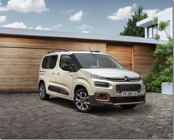 The Citroën New Berlingo: The Leisure Class image