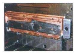 Beryllium copper mold component