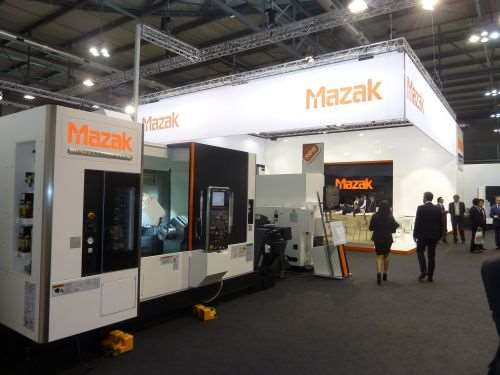 Mazak's five-axis machining technology for large-part production