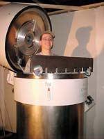Bill De Felice and an Applied Cryogenics machine