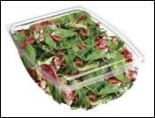 Bio-derived, biodegradable rigid packaging