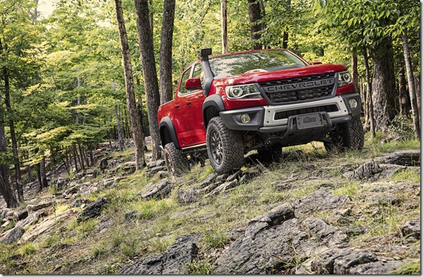 The Colorado ZR2 Bison offers customers an even more extreme turn-key off-road truck ready to tackle your next adventure.