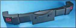 Blow molded TPO bumpers