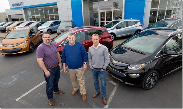 First Chevrolet Bolt EVs Delivered
