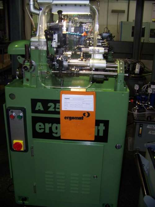 A25 cam-actuated multi-slide lathes