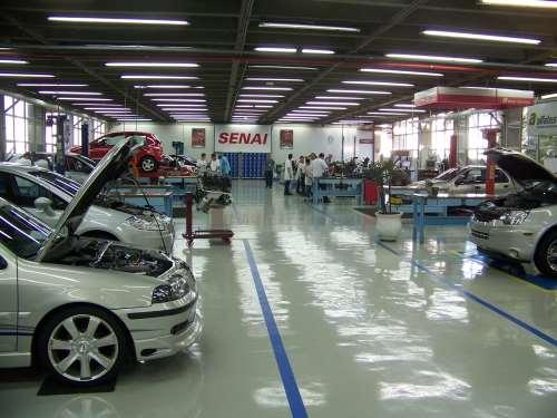 SENAI vocational school in Brazil