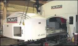 Bridge-type vertical machining center