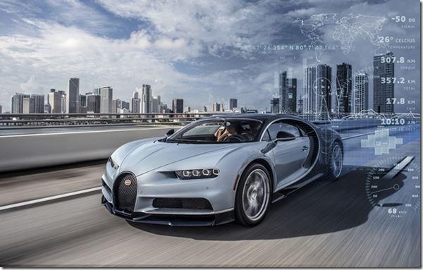 Bugatti and Telemetry image