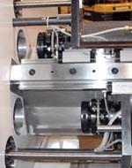 CD couplings on Tri-Turn 383 Multi-Spindle Machine