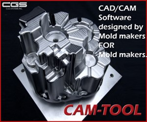 CGS CAM-TOOL Software for Mold Makers