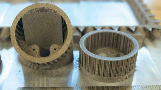 additive manufactured cage parts