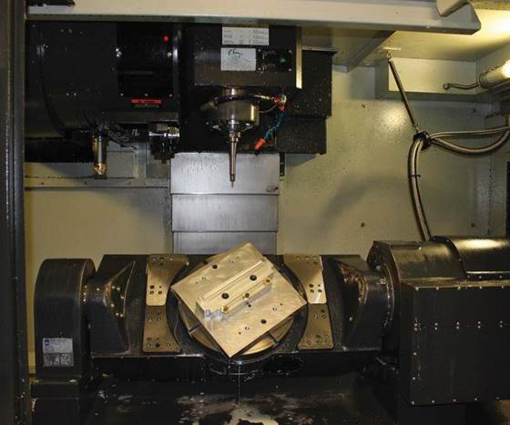 rotary trunnion table