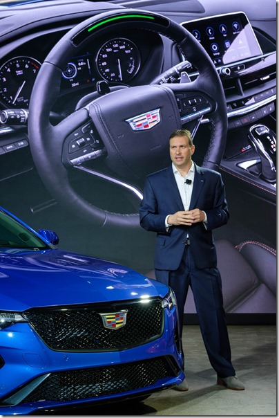 Cadillac Unveils First-Ever CT4-V and CT5-V