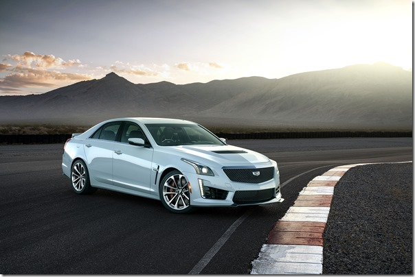 The exclusive 2018 Cadillac CTS-V Glacier Metallic Edition celebrates Cadillac's 115-year history. The smoky light gray edition of the super sedan will be a limited production of 115 vehicles.