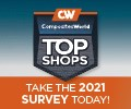 CompositesWorld Top Shops 2021 ad