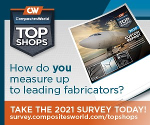 CompositesWorld Top Shops 2021