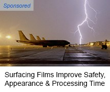 Surfacing Films Improve Aerospace Safety, Appearance, Processing Time