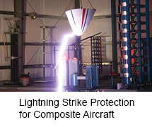 Lightning strike protection strategies for composite aircraft