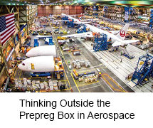 Thinking Outside the Prepreg Box in Aerospace