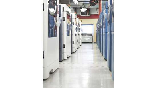 Stratasys Direct Manufacturing production floor