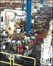 Camcraft CNC rotary transfer machines