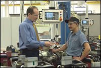 Camcraft engineering manager Marc Bossert