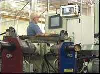 Camcraft rotary transfer machine's Windows-based PC