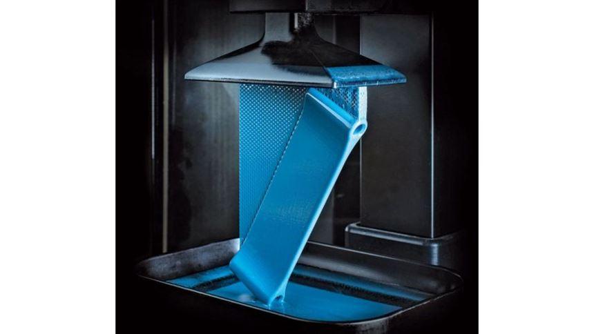 Carbon3D M1 3D printer interior