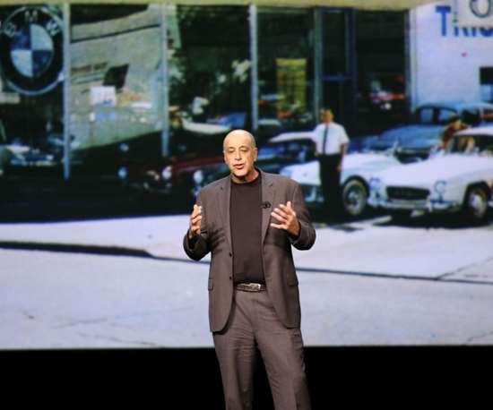 Carl Bass speaks at Autodesk University