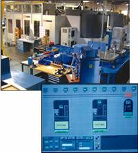 Cell with two 50-taper machining centers