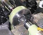 Center-drive lathe